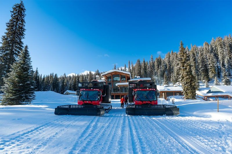 Luxury Snowcats at Keefer Lake Lodge Catskiing
